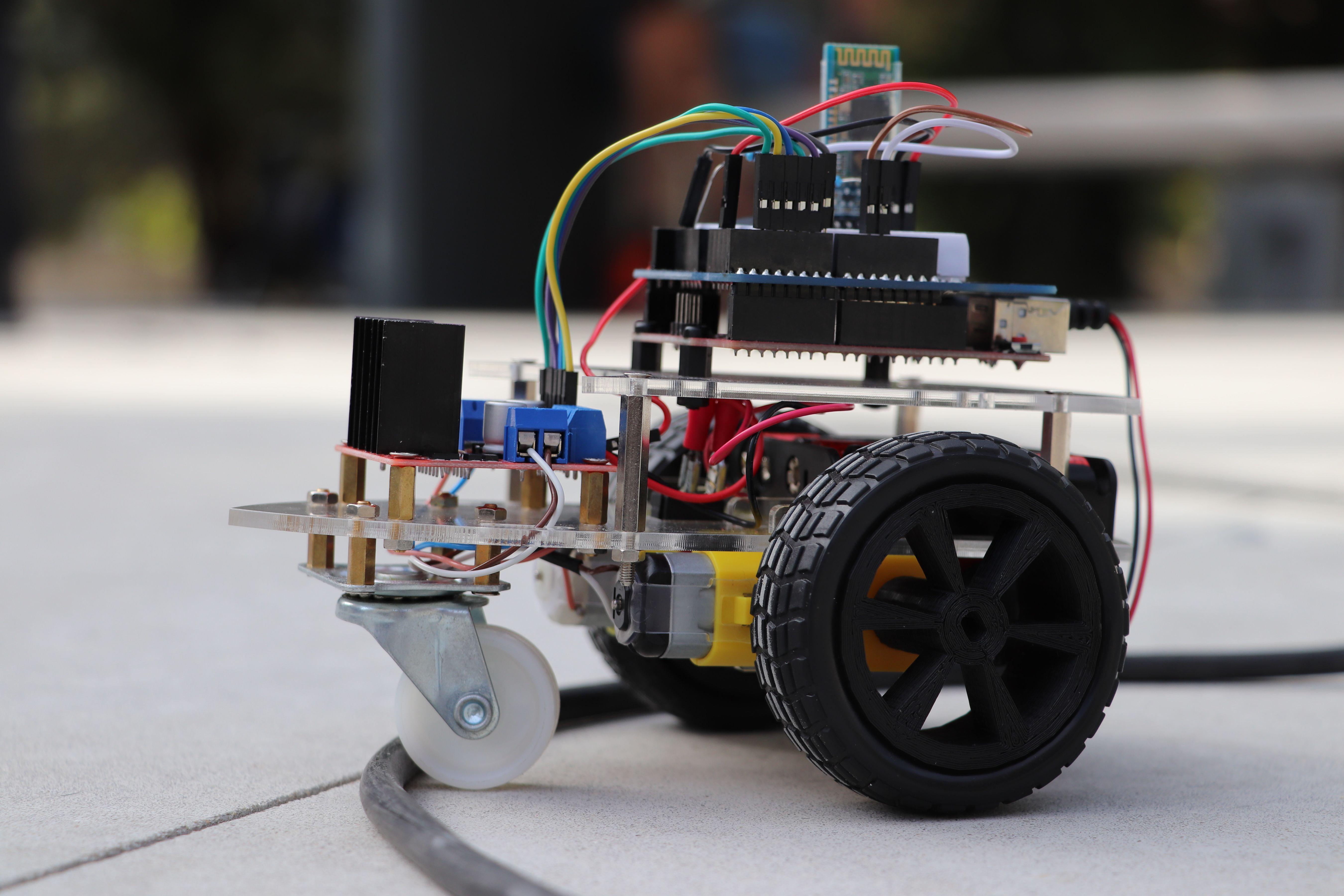 Robótica, modelação e impressão 3D